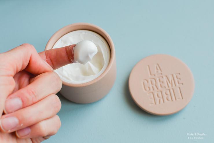 Mon avis sur la Crème Libre - l'originale - cosmétique made in France et rechargeable sur le blog beauté